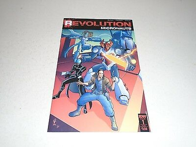 Micronauts Revolution 1 SUB COVER A (IDW Comics) Sep 2016 TRANSFORMERS