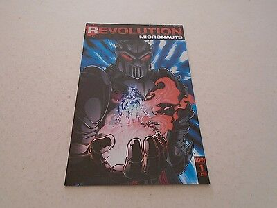 Micronauts Revolution 1 REGULAR COVER (IDW Comics) Sep 2016 TRANSFORMERS