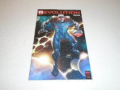 Rom Revolution 1 SUBSCRIPTION COVER (IDW Comics) Sep 2016