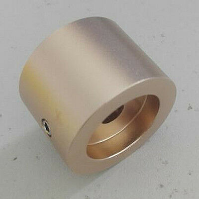 "1pcs  30x22 1/4"" SHAFT GOLD-PLATED SOLID Aluminum CD VOLUME CONTROL ROTARY KNOB"