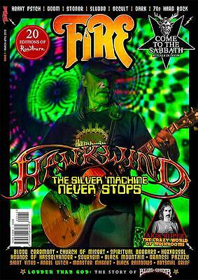 HAWKWIND Fire Magazine Vol. 1 NEW Prog/Psy/Meta Rockl Magazine BLUE CHEER