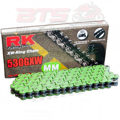 RK XW-Ringkette GN530GXW/112 off. m Niet. x-ring chain green 530gxw/112 Yamaha-X