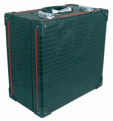 Scarlatti Standard Melodeon Case, Fit most 2-row models. Wooden with black outer