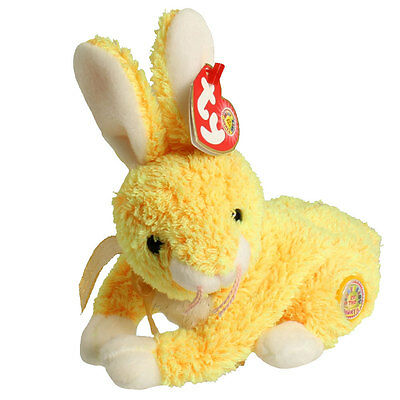 TY Beanie Baby - BUTTERCREAM the Bunny (BBOM April 2003) (6.5 inch) - MWMTs