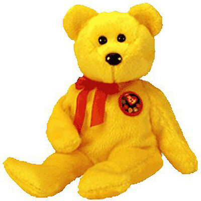 TY BEANIE BABY - TRADEE the e-Bear (Internet Exclusive) (8.5 inch ... 3dd651fbe72