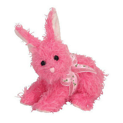 TY Basket Beanie Baby - SUGARTWIST the Bunny (4 inch) - MWMTs Easter Stuffed Toy