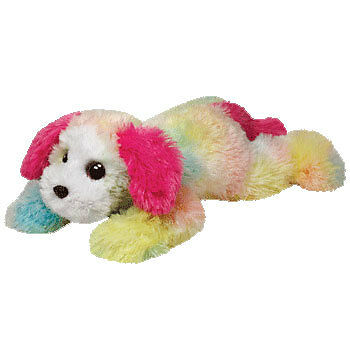TY Classic Plush - YODELS the Dog (PASTEL - LARGE Version - 20 Inches) - MWMTs
