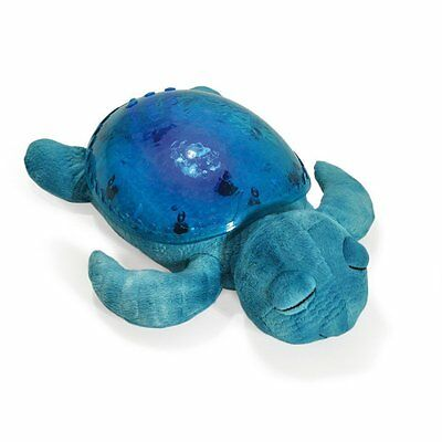 Cloud B 7423-AQ Tranquil Turtle, Aqua, Plush Toy Night Light, Projector Soother