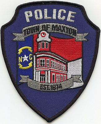 Maxton North Carolina Nc Police Patch