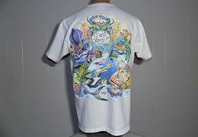 Coral Reefer Band Caribbean Soul Fan Club shirt 1996 ?  Jimmy Buffett large rare