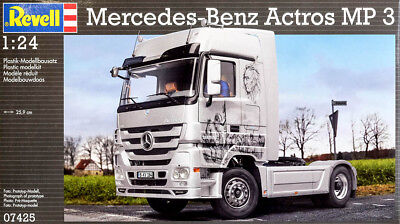 Mercedes Benz Actros MP 3 Truck LKW MP3 1:24 Model Kit Bausatz Revell 07425