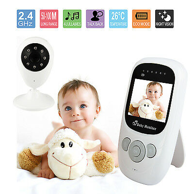 "2.4"" Baby Monitor Wireless Camera  Care Security Wifi Night Vision Audio UK"