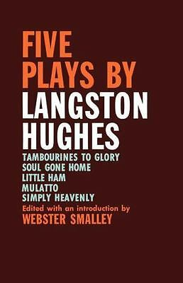 Five Plays by Langston Hughes (Paperback or Softback)