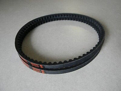 Powermatic 66 drive belts, 2 cogged belts