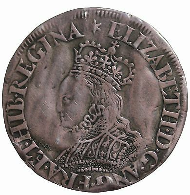 Elizabeth I 1558-1603 AD Great Britain AR Silver Groat S.2601