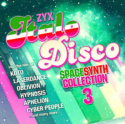 ITALO CD ZYX ITALO DISCO SPACESYNTH COLLECTION 3 by Various Artists 2CDs