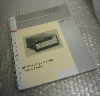 hp 53181a frequency counter programming guide 53181 90002 20 00 rh picclick com Universal Frequency Counter 53131A HP User Manual
