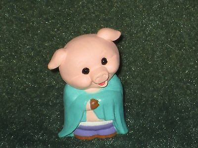 Hallmark Merry Miniature 1993 Pig in Blanket - Everyday/Summer - NEW