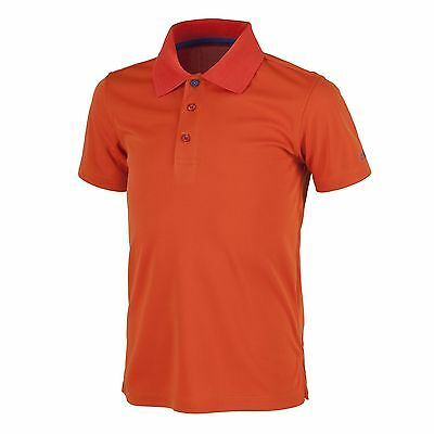 CMP Polo shirt Dress shirt Collar shirt red DryFunction breathable