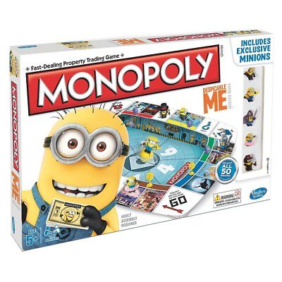 Brand New Hasbro Monopoly Board Game Despicable Me A2574