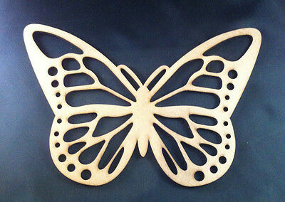 1 x  DIY Wooden Butterfly - Wood Shape Butterfly - 22cm x 15cm