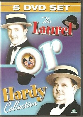 THE LAUREL OR HARDY COLLECTION - 5 DVD BOX SET Oliver Hardy, Stan Laurel