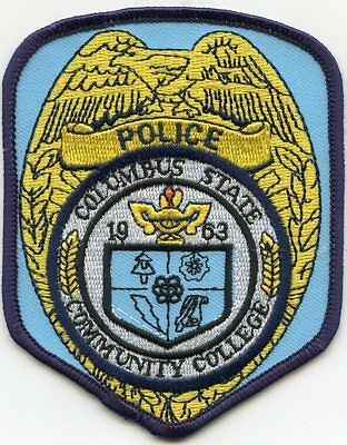 Columbus State Community College Ohio Oh Police Patch