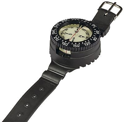 Mares - Mission 1C - Scuba Divers Wrist Mount COMPASS with Console and Strap