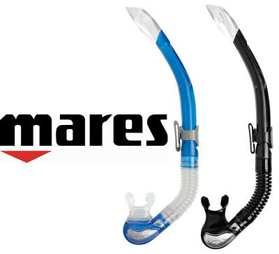 Mares Bay Snorkel - Semi dry Splash Top + Silicone Mouthpiece + Purge Valve