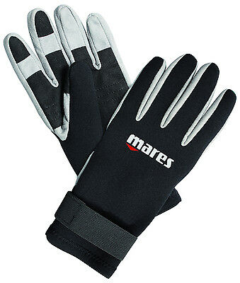 Mares - Amara - 2mm Five finger Gloves with Sticky Strap For Scuba Diving