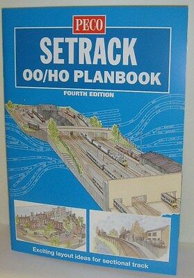 Peco 00/H0 Setrack 00 Planbook - Fourth Edition - New Edition!! (Model Railways)
