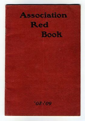 ASSOCIATION RED BOOK 1908-09 Detroit YMCA Early History NEW BUILDING Location