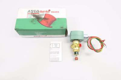 New Asco 8320G184PMS Red-hat Ii 120v-ac 1/4 In Npt Solenoid Valve