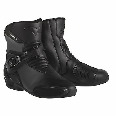 Alpinestars SMX 3 Motorcycle Boots (Black) ***Now Only £105.00***
