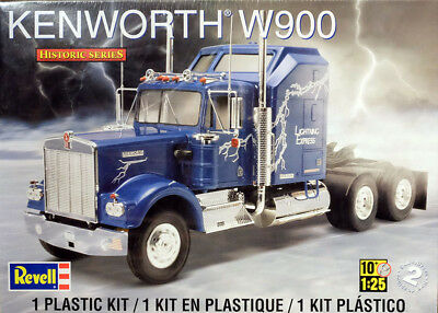 Kenworth W900 Lastzug Truck 1:25 Model Kit Bausatz Revell 1507