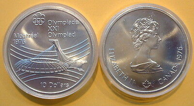 CANADA 1976 OLYMPIC $10 SILVER COIN *No 25**