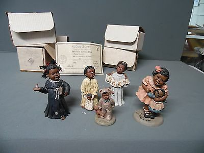 Lot 5  80's & 90's Marthas Collection Figurines, All Gods Children