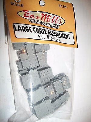 Bar Mills O Scale Large Crate Assortment # 04019  Bob The Train Guy