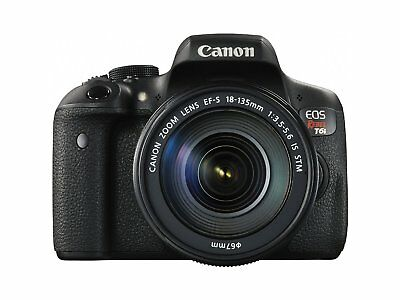 Canon EOS Rebel T6i  24.2MP Digital SLR with EF-S 18-135mm IS STM Lens - Wi-Fi