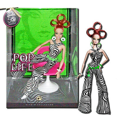Barbie Pop Life Collection Pop Life Red Head Barbie 11-Inch Fashion Doll N6597