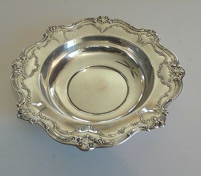 "VINTAGE GORHAM ""CHANTILLY DUCHESS"" STERLING SILVER 10.5"" BOWL #745, 465 grams"
