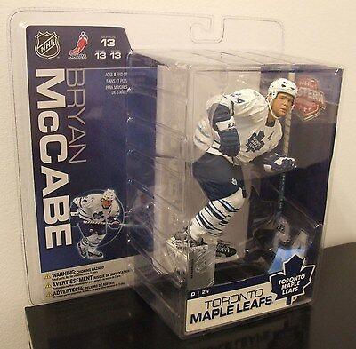 Mcfarlane Toys Nhl Series 13 Toronto Maple Leafs Bryan Mccabe Action Figure