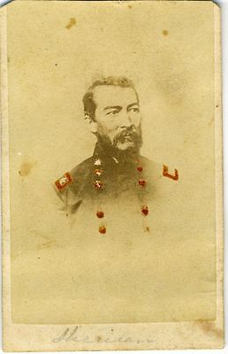 Cdv- Civil War – Union General Phil Sheridan