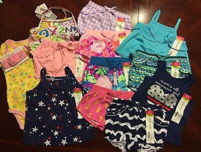 NWT Adorable Baby Girl Spring/Summer CLOTHES LOT Outfit 9 Months Lot # 14
