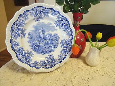 Spode Blue Room Regency Series Ruins Plate Made In England