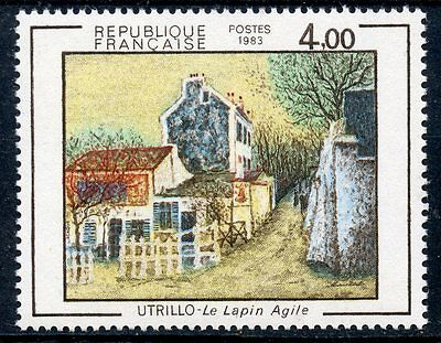 Stamp / Timbre France Neuf N° 2297 ** Tableaux Maurice Utrillo