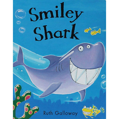 Smiley Shark by Ruth Galloway (Board Book), Children's Books, Brand New
