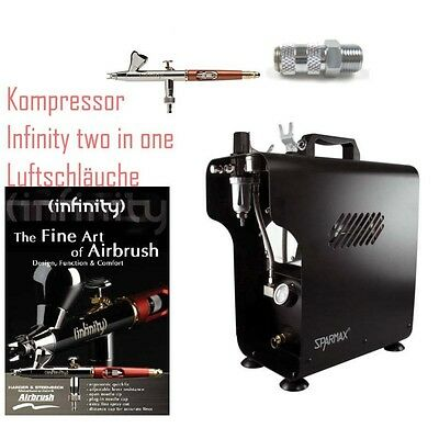 Komplett Airbrush Set 3142 mit Infinity two in one