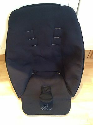 Genuine Quinny Buzz Xtra Spare Replacement seat fabric Black
