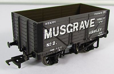 OO Gauge Bachmann Musgrave Plank Wagon UNBOXED (37-154)